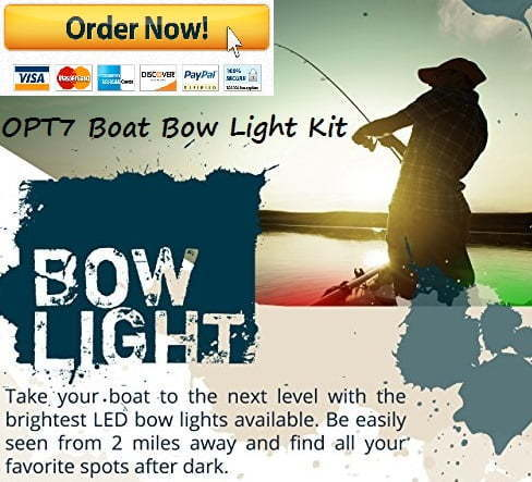 OPT7 boat bow light kit